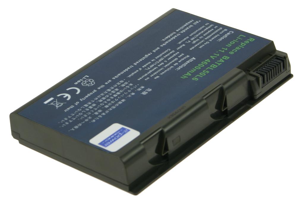 produkt-foto van 'Laptop Accu 11.1v - 4.400mah, 48w, zwart, 2-power'