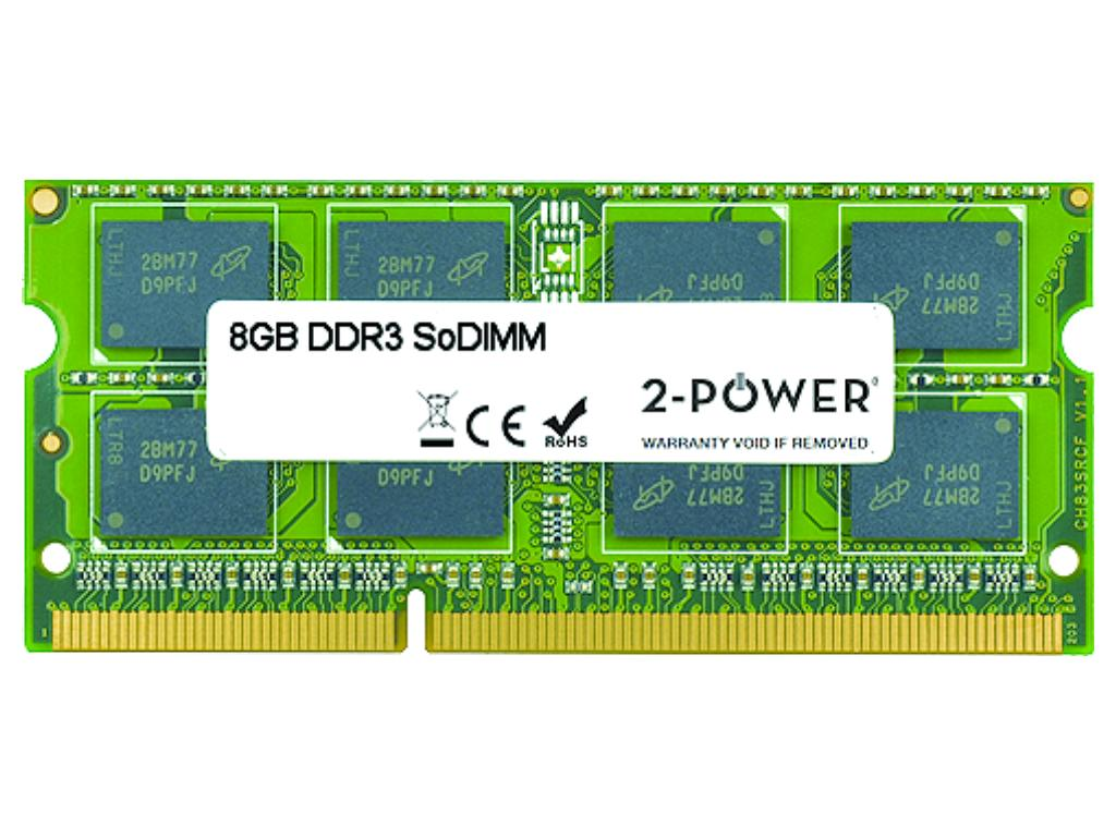 produkt-foto van 'sodimm 8gb - ddr3-1066/1333/1600, 2-power'