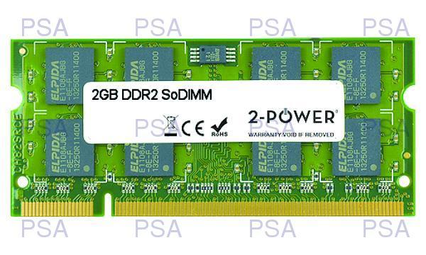produkt-foto van 'sodimm 2gb - ddr2-533/667/800 - 2-power'