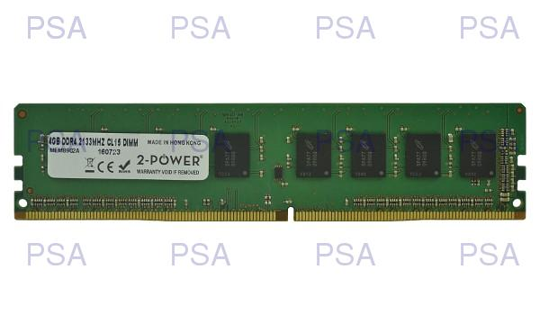 produkt-foto van 'Dimm 4gb - ddr4-2133, pc4-17000, non-ecc, cl15, 2-power'