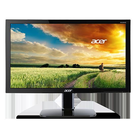 "produkt-foto van 'Acer beeldscherm - 21,5"", LED, IPS, Full HD=1920x1080, vga+hdmi, zwart'"
