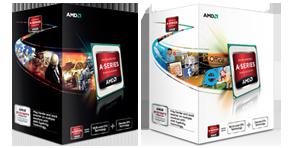 produkt-foto van 'AMD a6-3.500 met Fan (socket fm1 - triple core - cache 3mb)'