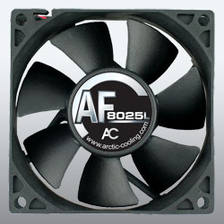 produkt-foto van 'Arctic Case Fan - 80x80x25mm (2.000tpm - pwm)'