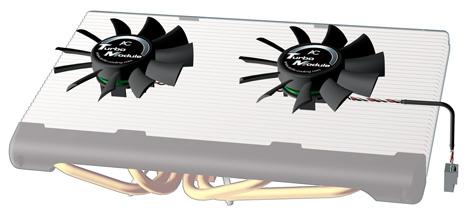 produkt-foto van 'Arctic TURBO module - Accelero s1/s2, 2x fan, 1500tpm'