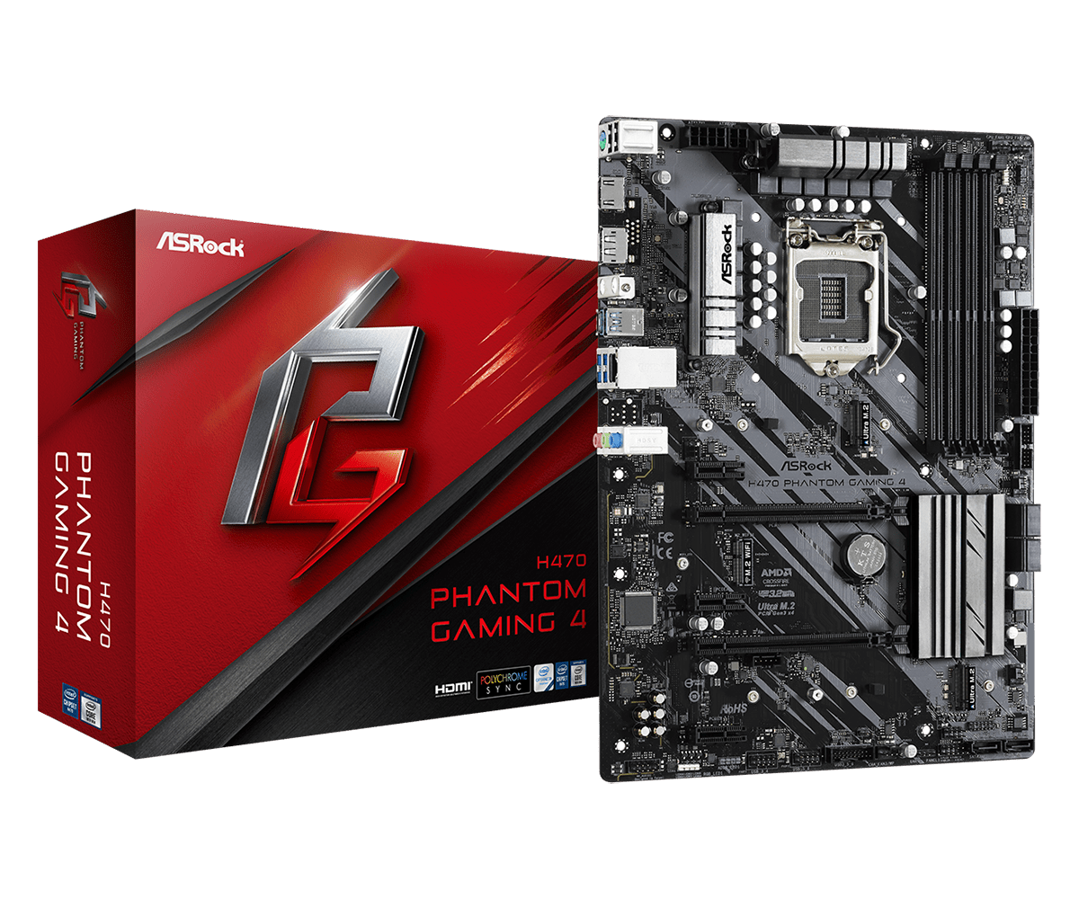 foto van h470 phantom gaming 4