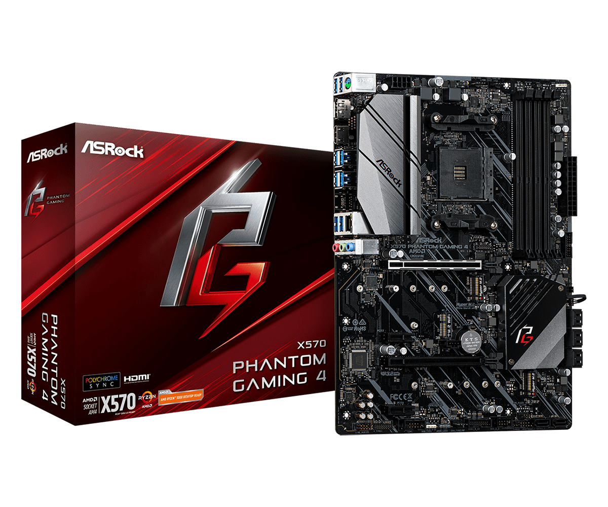 foto van x570 phantom gaming 4