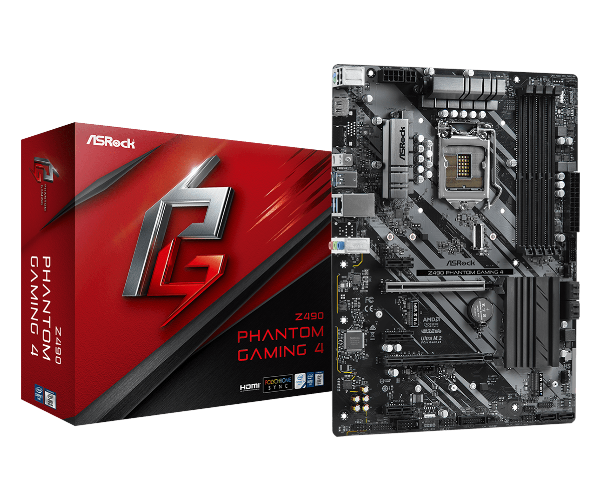foto van z490 phantom gaming 4