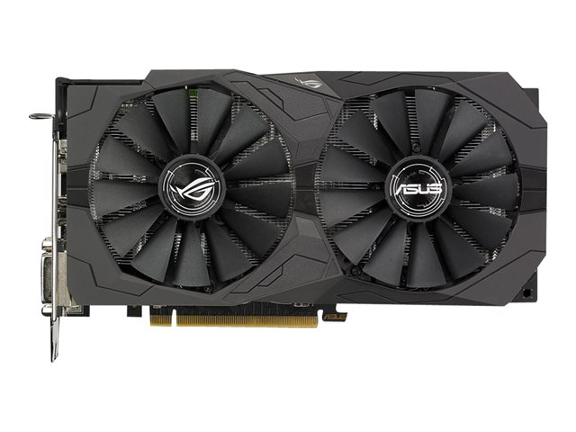 produkt-foto van 'Aus Radeon video-kaart - rog-strix-rx570-04g-gaming - 4gb, pci-e'