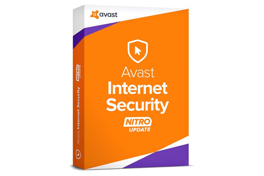 produkt-foto van 'Avast! Internet Security - geldig 1 jaar, voor 3 pc's, certificaat'