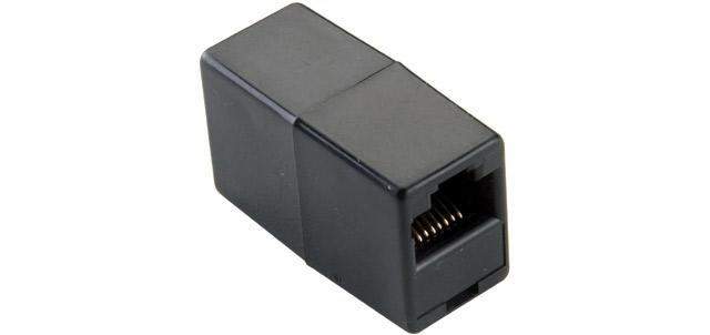 produkt-foto van 'tal3000 - ISDN koppelstuk (Zwart)'