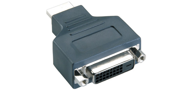 produkt-foto van 'vap1101 - DVI-D (v) -> HDMI (m) adaptor'