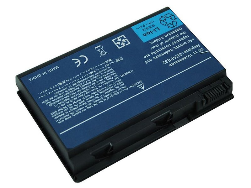produkt-foto van 'Laptop Accu - 10,8-11,1v, 4.400mah, 49Wh, Blu-Basic, zwart, acer ex55630ez'