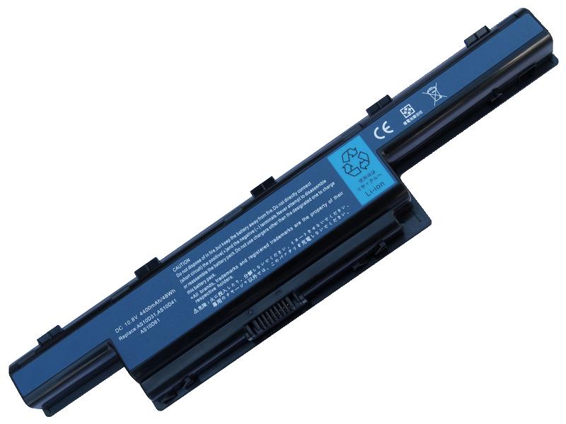 produkt-foto van 'Laptop Accu - 10,8-11,1v, 4,400mah, 47Wh, BluBasic, zwart, oa. acer ex55630ez'