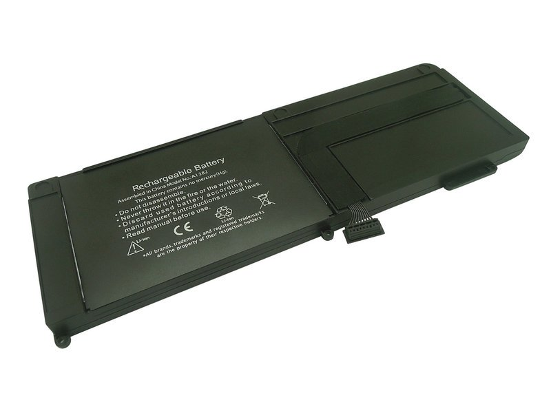 produkt-foto van 'Laptop Accu - 10.95v, 5.800mah, 64Wh, zwart, Apple a1382, Blu-Basic'