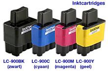 produkt-foto van 'Brother lc-900bk patroon, zwart'