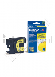 produkt-foto van 'Brother lc-980y - inktpatroon, geel, ong. 5 ml'