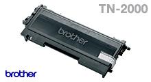 produkt-foto van 'Brother tn-2000 toner - zwart, ong. 2.500 afdrukken'