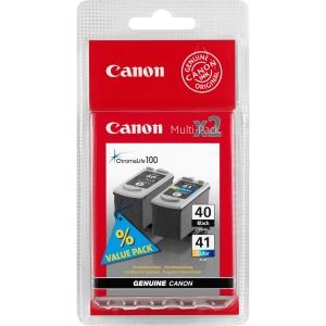 produkt-foto van 'Canon pg-40bk + cl-41c - zwart (16ml) + kleur (12ml)'