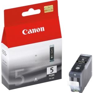 produkt-foto van 'Canon pgi-5bk - zwart, ong. 520 pagina's, 26ml'