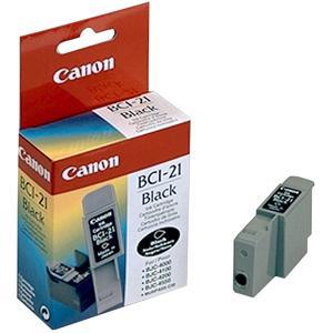 produkt-foto van 'Canon bci-21bk (zwart - 9ml)'