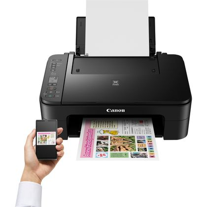 produkt-foto van 'Canon Pixma ts3150 - Printer, Scanner & Copier - zwart, usb, wifi, a4'