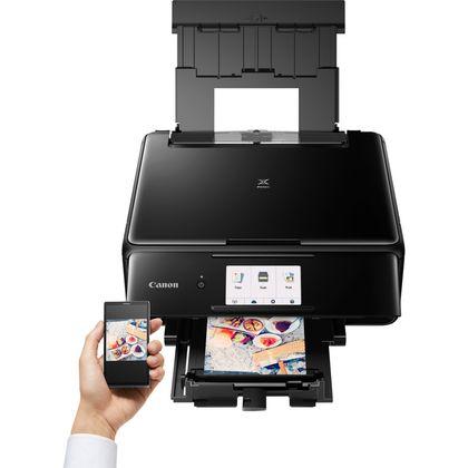 produkt-foto van 'Canon Pixma ts8150 - Printer, Scanner & Copier - zwart, usb, wifi, a4'