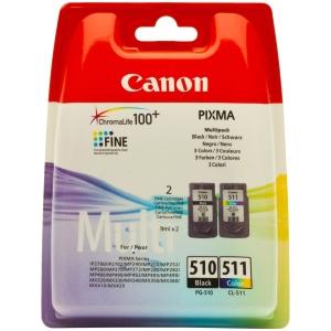 produkt-foto van 'Canon pg-510bk & cl-511 multipack zwart & kleur'