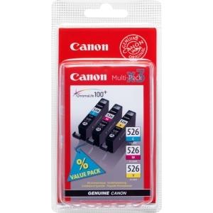 produkt-foto van 'Canon cli-526 - combo-pak, cyaan, magenta & geel'