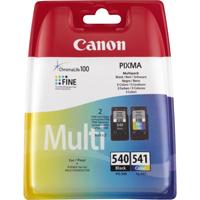 produkt-foto van 'Canon pg-540bk + cl-541c - zwart + kleur'