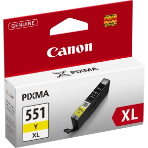 produkt-foto van 'Canon cli-551y-xl - geel XL, 11ml, ong. 685 pagina's'