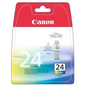 produkt-foto van 'Canon bci-24c kleur, 15ml - 2 stuks'