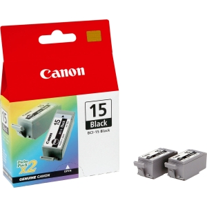 produkt-foto van 'Canon bci-15bk - zwart, enkel, 5,3ml'