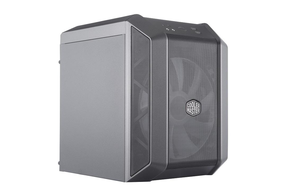 produkt-foto van 'Cooler Master MasterCase h100 - midi-ITX - zonder voeding, zwart'