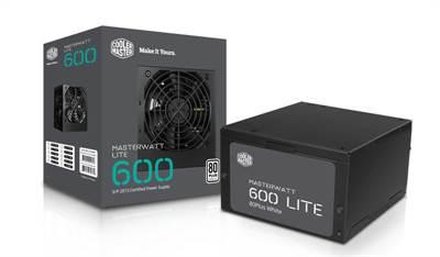 produkt-foto van 'Cooler Master voeding - 600 Watt, mpx-6001, fan 12cm, 20/24 pin'