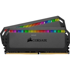produkt-foto van 'Dimm 16gb kit - ddr4-3600, pc4-28800, corsair, Dominator Platinum RGB'