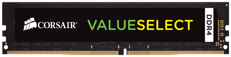 produkt-foto van 'Dimm 8gb - ddr4-2133, pc4-17000, non-ecc, cl15, corsair'