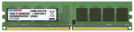 produkt-foto van 'Dimm 2.048mb (c35 - ddr2-800 - pc2-6400 - dane)'