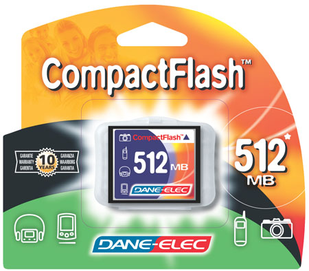 produkt-foto van 'Compact Flash CARD 512mb (reduced size)'
