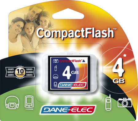 produkt-foto van 'Compact Flash CARD 4.096mb (4gb - reduced size)'
