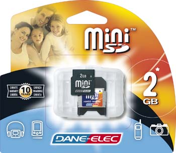 produkt-foto van 'Secure Digital CARD 2.048mb (Mini)'