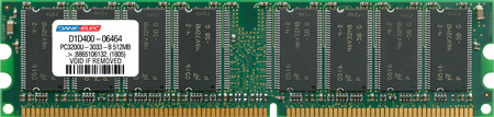 produkt-foto van 'DIMM - DDR (1) - 512mb'