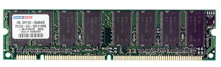 produkt-foto van 'Dimm 512mb (c2 - sdram - pc-133 - dane premium)'
