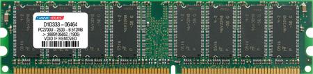 produkt-foto van 'Dimm 512mb (c4 - ddr-266 - pc-2100 - dane premium)'