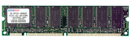 produkt-foto van 'Dimm 512mb (c2 - sdram - pc-133 - dane)'
