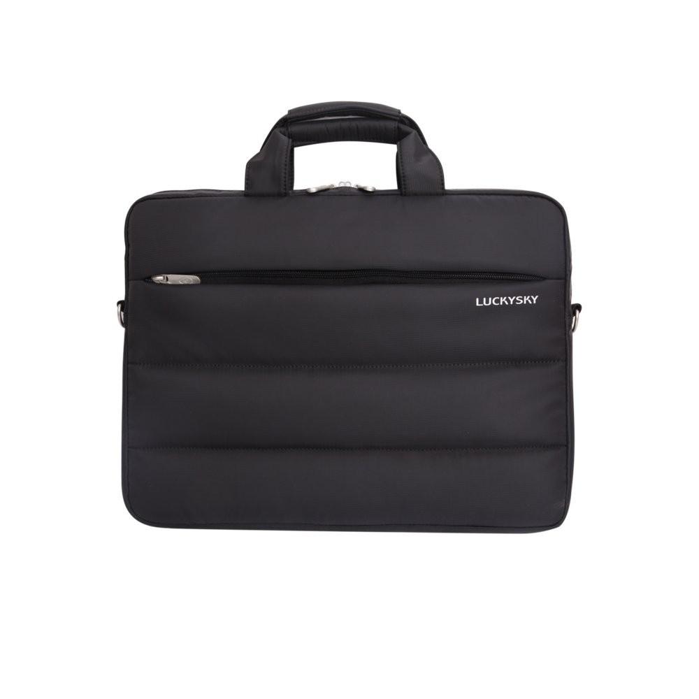 "produkt-foto van 'Laptop tas - Duragard, 12-14"", dun, zwart'"