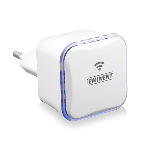 produkt-foto van 'Eminent Wireless Repeater - Mini, 300n + UTP aansluiting'
