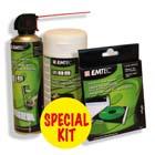 produkt-foto van 'Emtec Cleaning Kit (Sputbus Lucht + Doekjes + Lens Cleaner)'