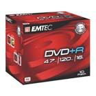 produkt-foto van 'Emtec DVD+R (per 10 dvd's - 16x Slim - 4.7gb)'