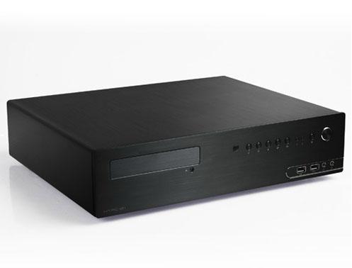 produkt-foto van 'Epsilon mini-desktop HTPC mATX (geen voeding - zwart)'