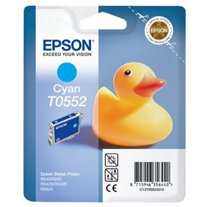 produkt-foto van 'Epson t0552 inkt-patroon - cyan'